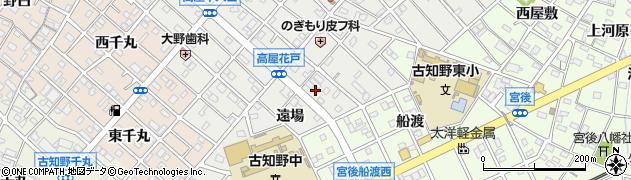 愛知県江南市高屋町(遠場)周辺の地図