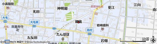 愛知県一宮市島村(郷裏)周辺の地図