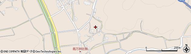 京都府綾部市中筋町(亀井)周辺の地図