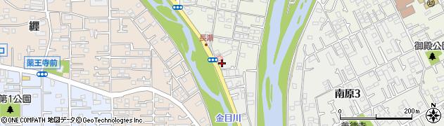 神奈川県平塚市南原周辺の地図