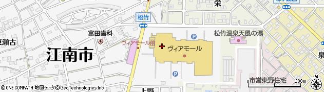 はな花だんごアピタ江南西店周辺の地図