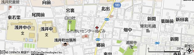いり家周辺の地図