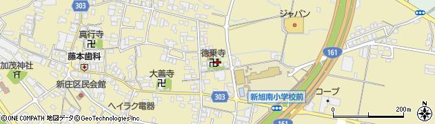 徳乗寺周辺の地図