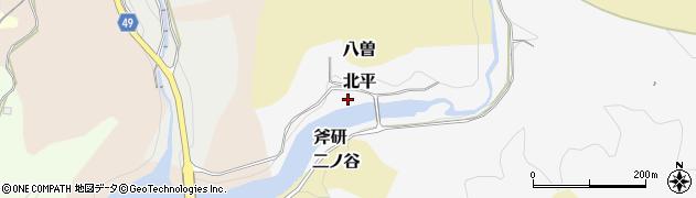 愛知県犬山市北平周辺の地図