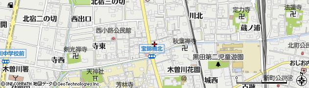 盛喜周辺の地図