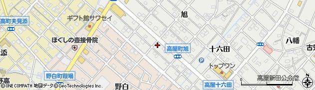 寿屋焼肉店周辺の地図