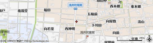 ほおずき周辺の地図