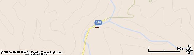 京都府南丹市美山町知見(八原田)周辺の地図