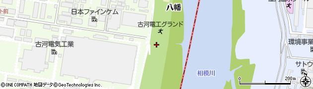 神奈川県平塚市八幡周辺の地図