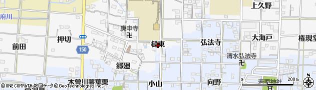 愛知県一宮市杉山(樋東)周辺の地図