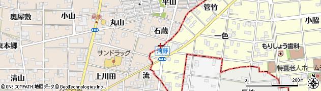 グリンピース時代家周辺の地図