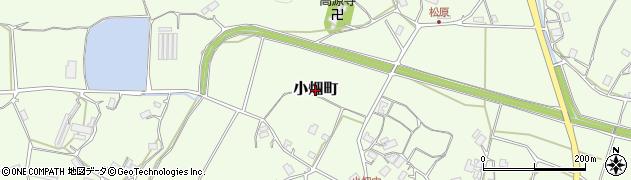 京都府綾部市小畑町周辺の地図