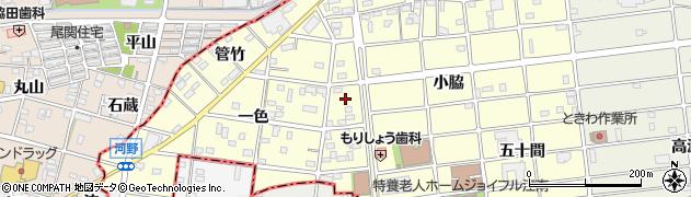 愛知県江南市河野町(川西)周辺の地図
