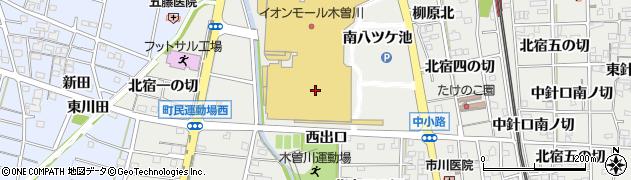 Na‐菜‐Naダイヤモンドシティ木曽川店周辺の地図