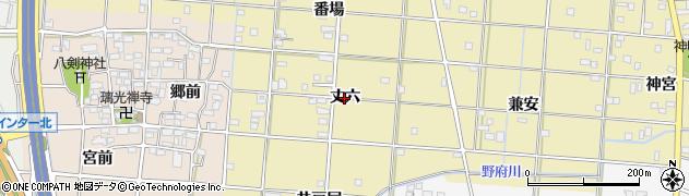 愛知県一宮市光明寺(丈六)周辺の地図