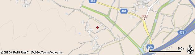 京都府綾部市中筋町(小路ケ迫)周辺の地図
