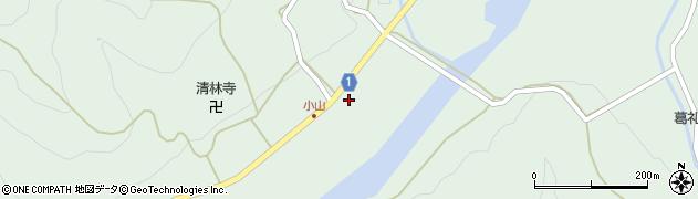 京都府綾部市睦合町(小山ノ下)周辺の地図