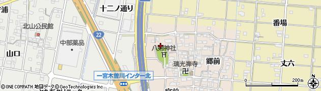 愛知県一宮市田所(戌亥出)周辺の地図