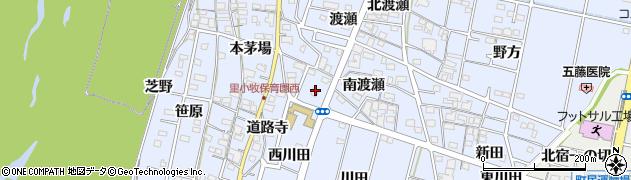 中華一品明和木曽川店周辺の地図