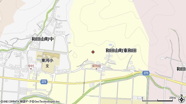 〒669-5227 兵庫県朝来市和田山町東和田の地図