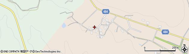 京都府綾部市中筋町(迫)周辺の地図