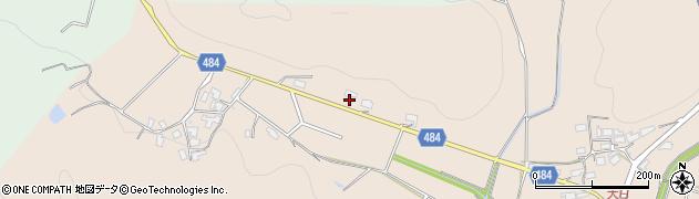 京都府綾部市中筋町(中道)周辺の地図