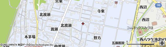 愛知県一宮市木曽川町里小牧(流)周辺の地図