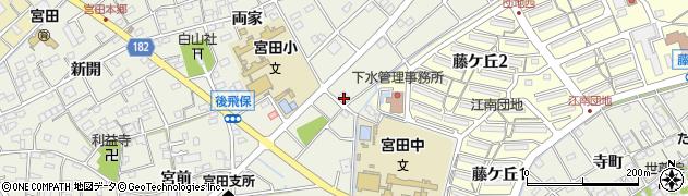 株式会社ボワード周辺の地図