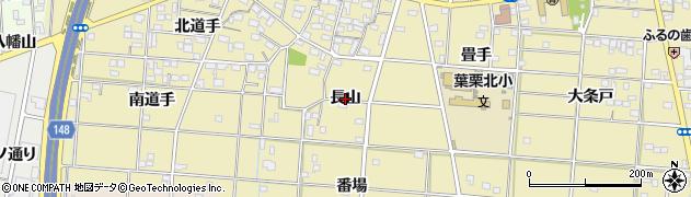 愛知県一宮市光明寺(長山)周辺の地図