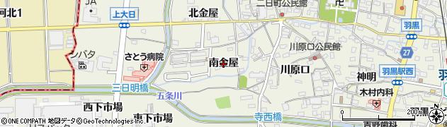 愛知県犬山市羽黒(南金屋)周辺の地図