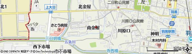愛知県犬山市羽黒周辺の地図