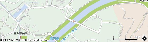 間府大橋周辺の地図