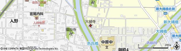 大経寺周辺の地図