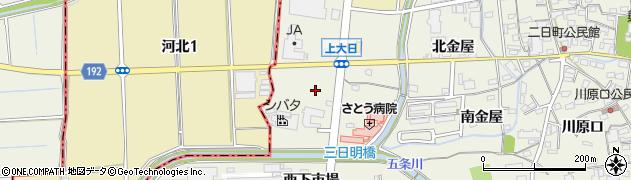 愛知県犬山市羽黒(下大日)周辺の地図