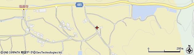 京都府綾部市白道路町(木反田)周辺の地図