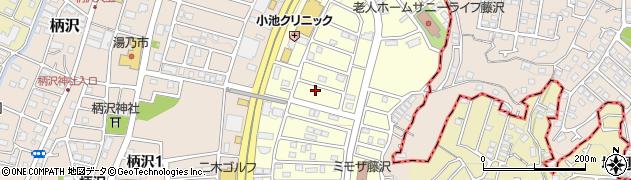 神奈川県藤沢市並木台周辺の地図