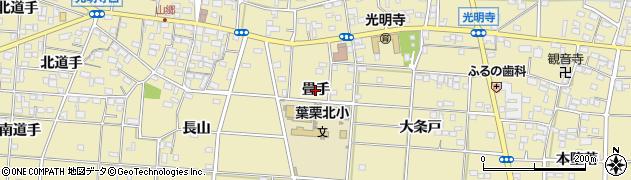 愛知県一宮市光明寺(畳手)周辺の地図