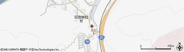 京都府綾部市上杉町(宮ノ谷)周辺の地図