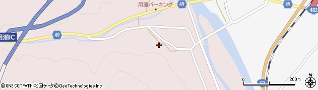 鳥取県鳥取市用瀬町美成周辺の地図
