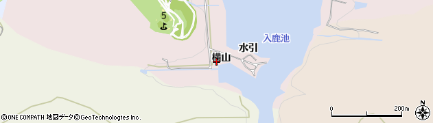 愛知県犬山市今井(横山)周辺の地図