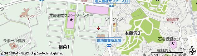 ココタウンヒルトップマリーナ周辺の地図