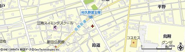 ひげ周辺の地図