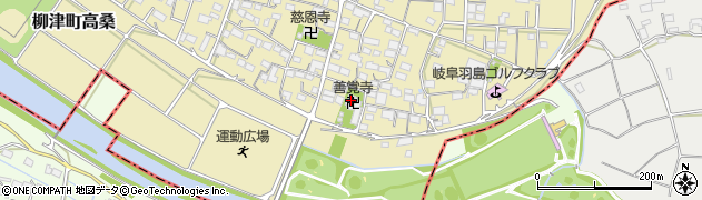 善覚寺周辺の地図