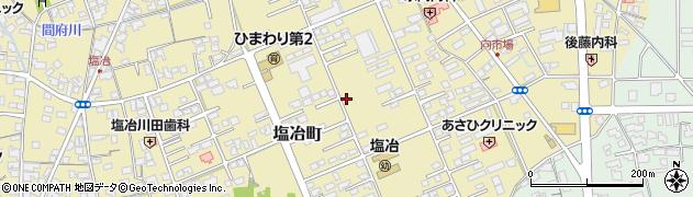 島根県出雲市塩冶町周辺の地図