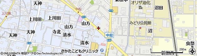 愛知県一宮市北方町中島(往還北)周辺の地図