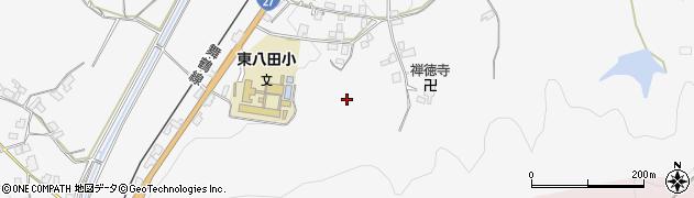 京都府綾部市上杉町(斉布)周辺の地図