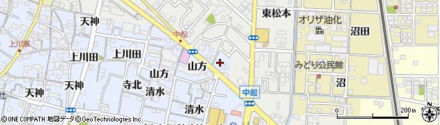 愛知県一宮市木曽川町里小牧(往還北)周辺の地図