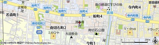 誓運寺周辺の地図