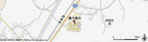 京都府綾部市上杉町(中嶋)周辺の地図