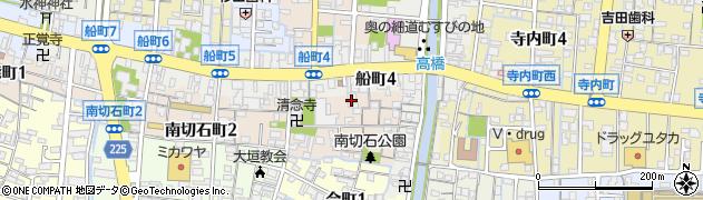 青苔寺周辺の地図
